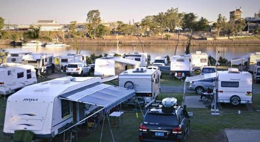 caravan park in Queensland